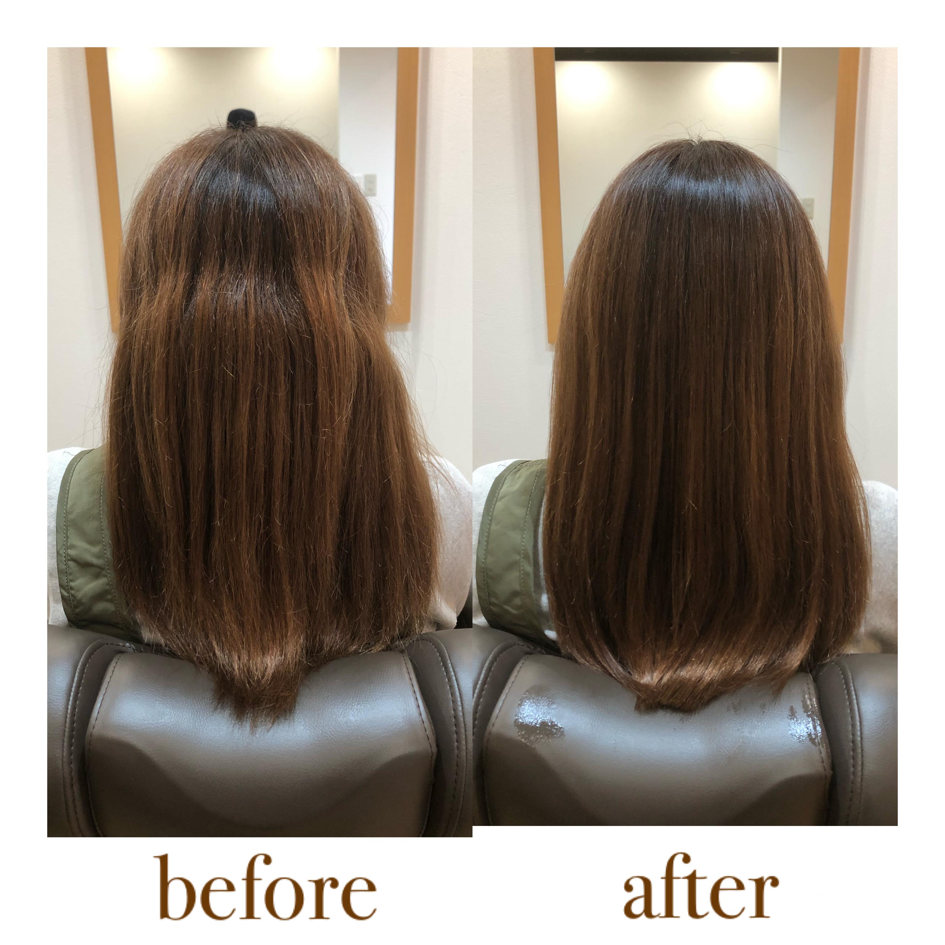 うねる 髪の毛